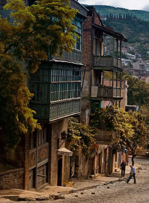 Old Tbilisi street | улица в старом городе