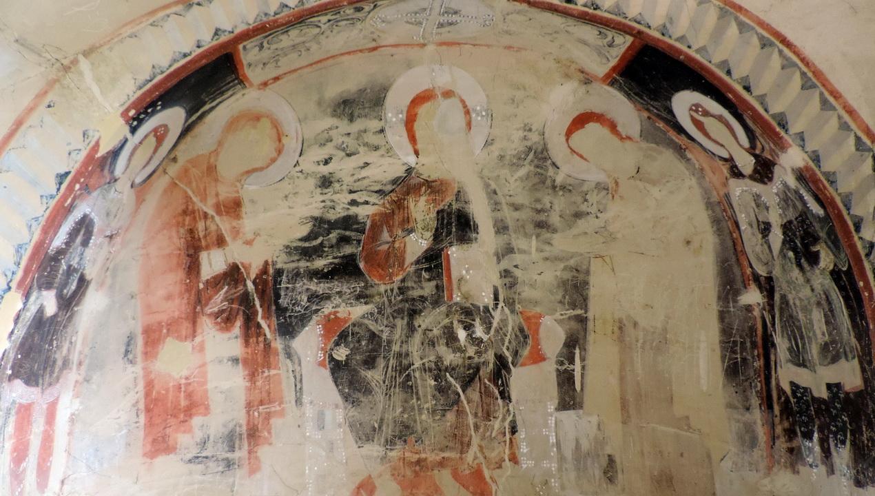 udabno cave wall painting