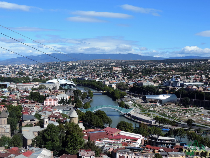 Tbilisi view   Вид Тбилиси