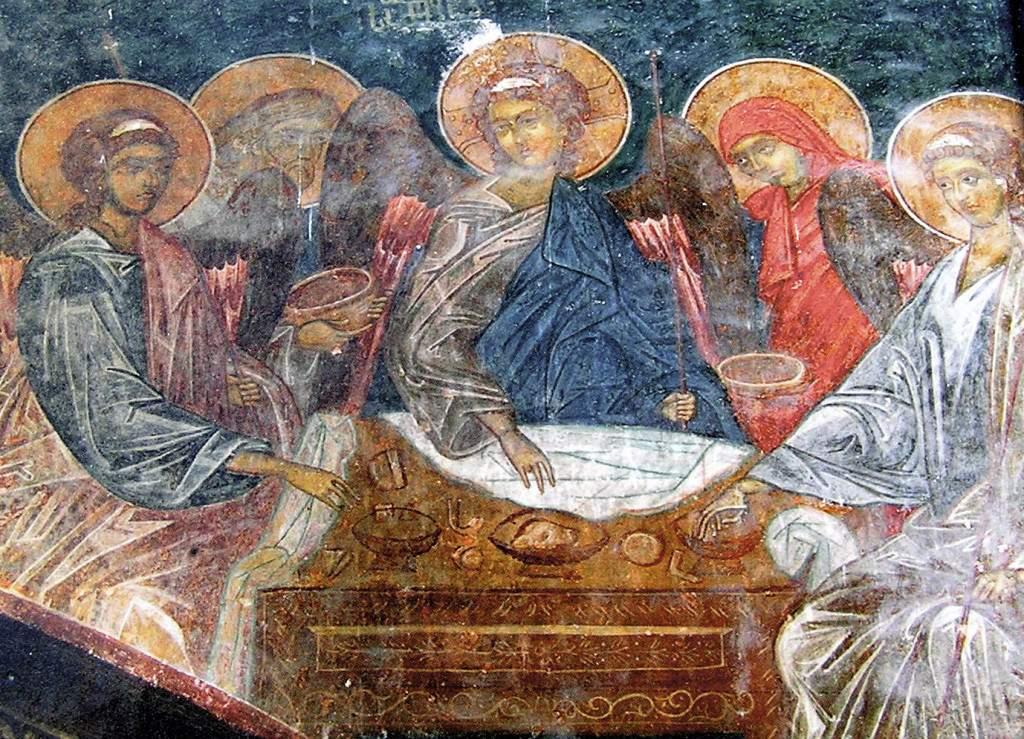 Zarzma fresco