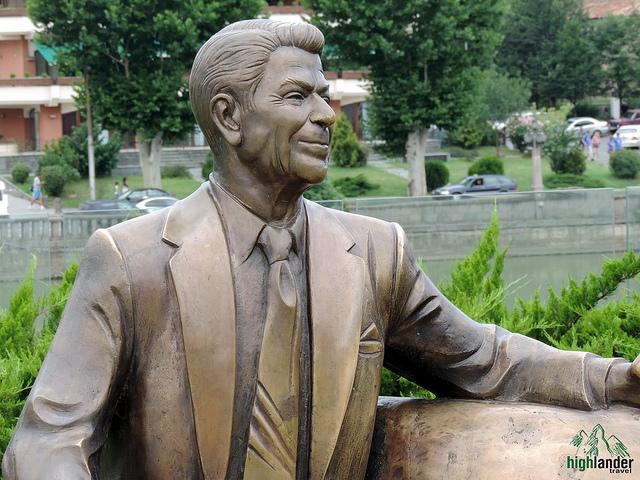 Ronald Reagan in Tbilisi