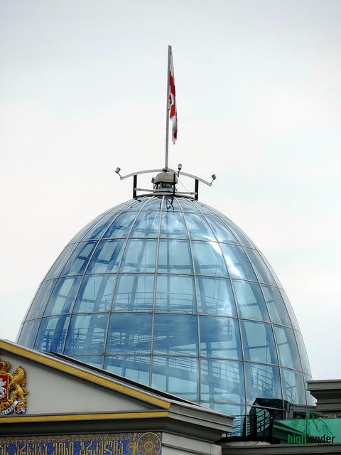 President palace cupola