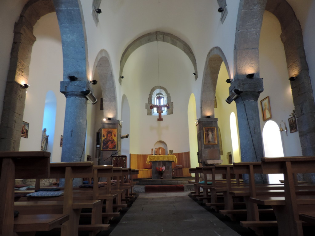 Catholic church in Arali Interior