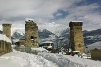 Зима в Сванети