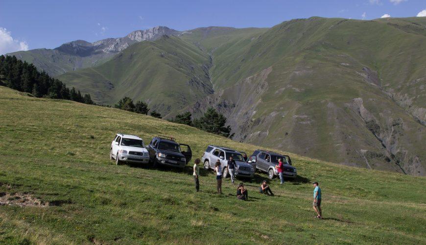 Jeep tour Tusheti