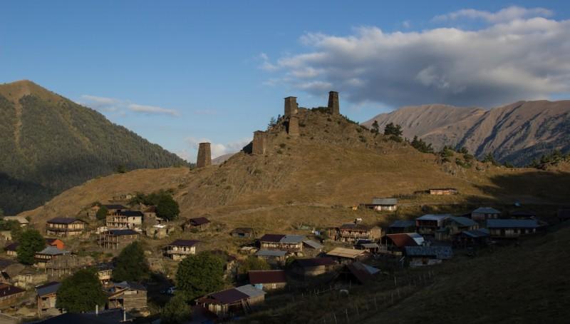 Trekking tour Tusheti