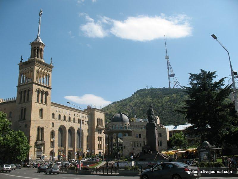 площадь Руставели