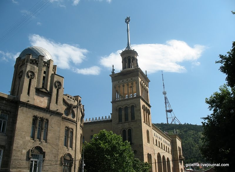 здание Академии наук Грузии