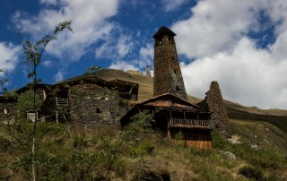 Tusheti trek adventures in wild