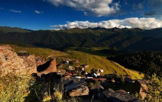 In Tusheti, Georgia, a tranquil getaway from the 'theme park' cities of Europe