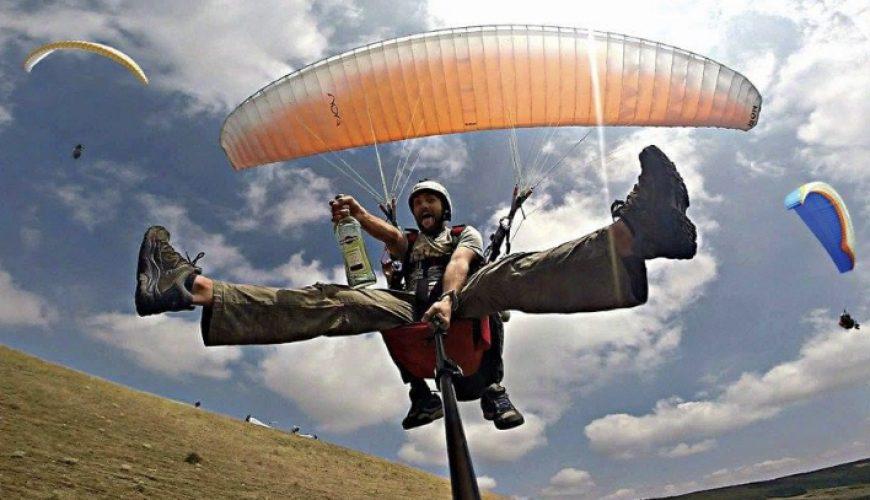 Paragliding in Mestia