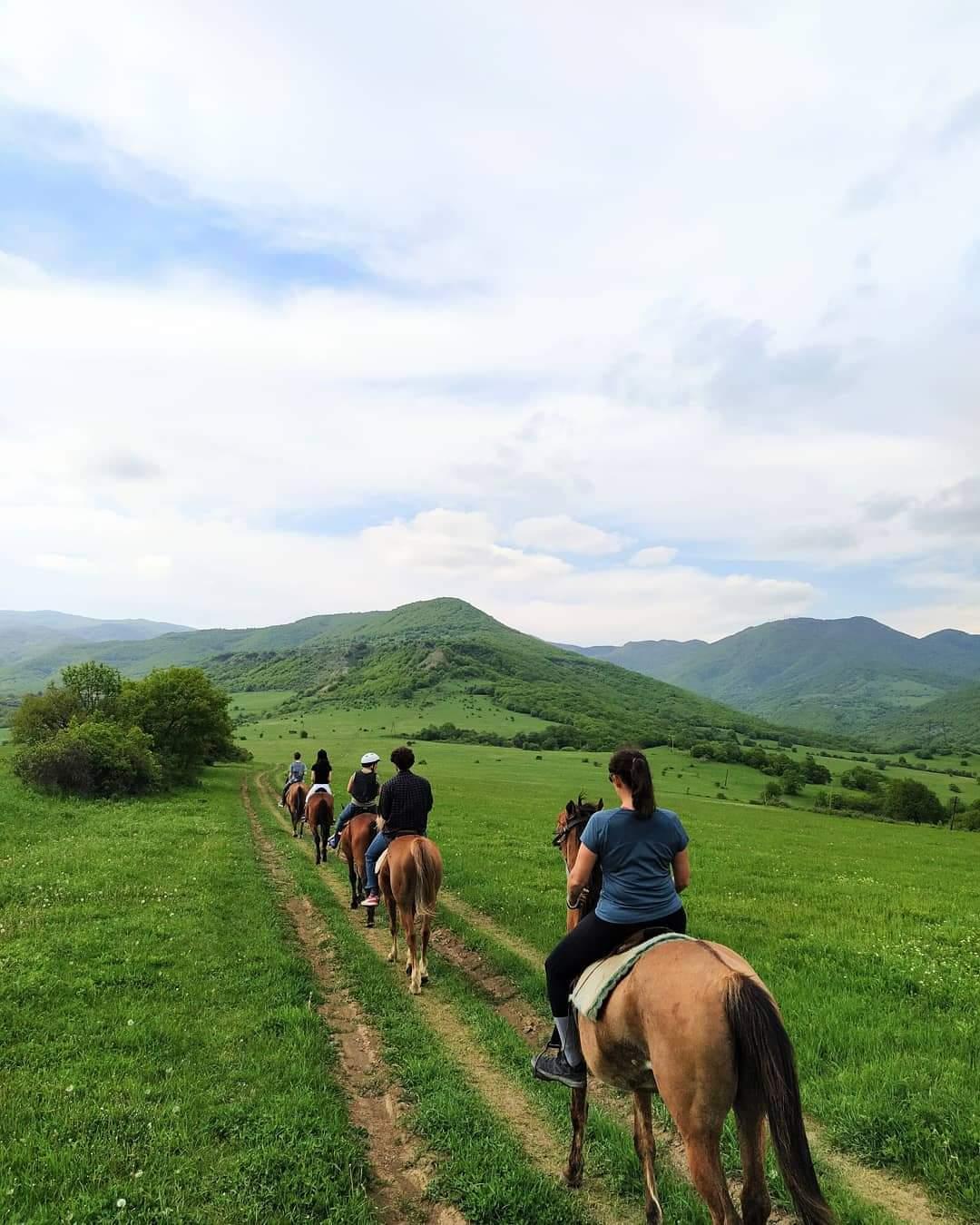 Конный тур в Тбилиси