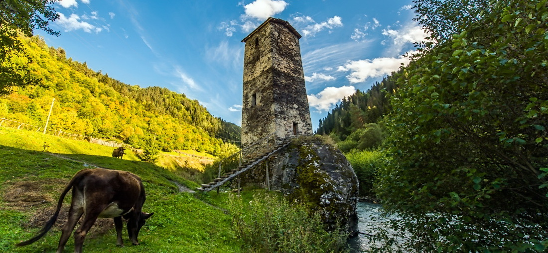 Svaneti tower of love
